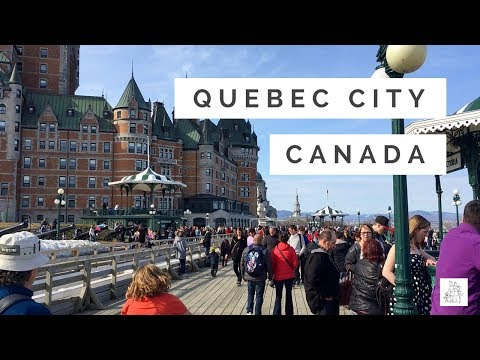 Quebec City, Canada with kids!