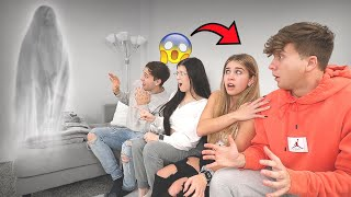 Telling Our Friends Our House Is HAUNTED...