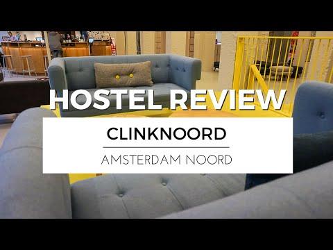 Visiting AMSTERDAM NOORD with ClinkNOORD Hostel | HOSTEL REVIEW TRAVEL VLOG