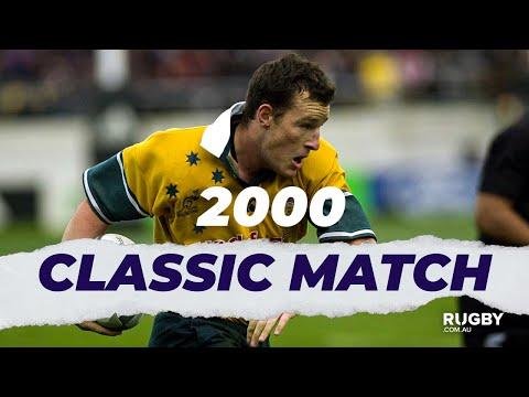FULL REPLAY | 2000 Bledisloe Cup G2: All Blacks Vs Wallabies
