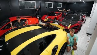 INSANE SUPERCAR GARAGE COLLECTION!