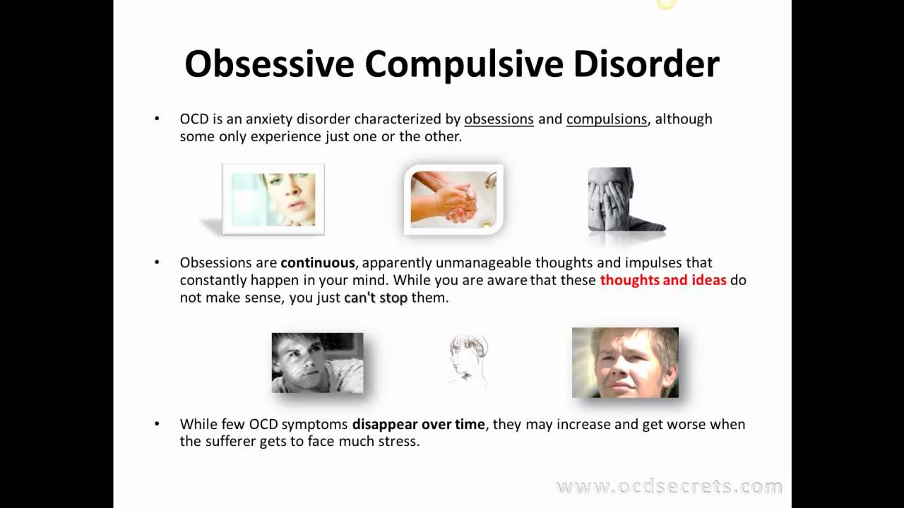 the study of obsessive compulsive disorder ocd The brain & behavior research foundation has awarded more than $5 million to obsessive-compulsive disorder (ocd) research since 1987.