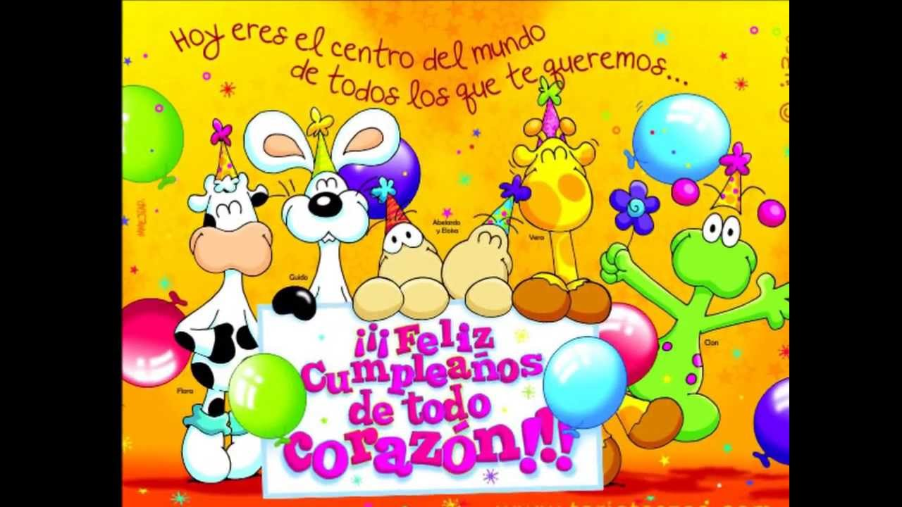 FELIZ CUMPLEA u00d1OS MARIBEL GIL ORTEGA 2014 wmv YouTube