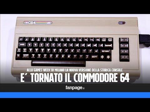 Commodore 64, la storica console torna in versione mini:
