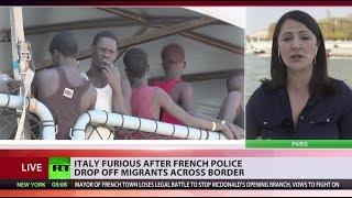French cops drop off migrants in Italian woods, Salvini furious