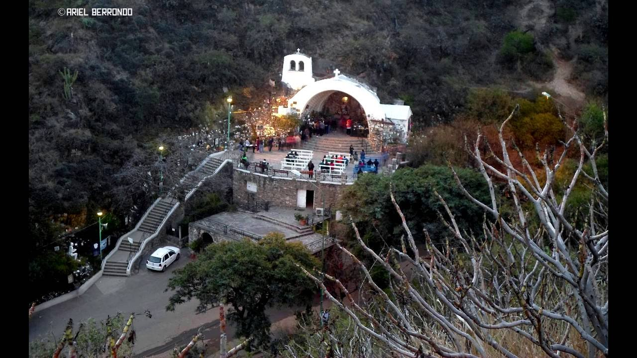 Gruta de la Virgen del Valle Catamarca - YouTube