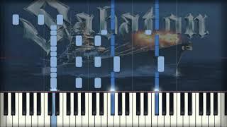 SABATON - Bismarck   Piano Tutorial, Cover