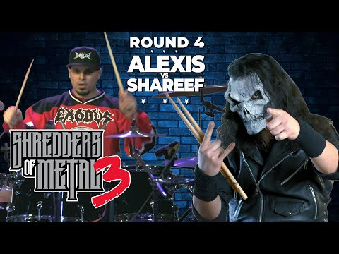 SHREDDERS OF METAL 3 | Episode 4: ALEXIS VS SHAREEF youTube Thumbnail