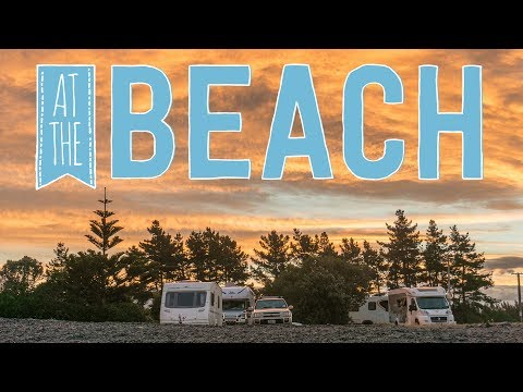 Freedom Camping in Caravan & Exploring Cape Kidnappers | Hawkes Bay