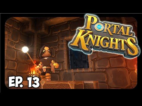 Portal Knights ➤ ENRAGE, WAR CRY, & Critical Strike Chance Buffs = BASICALLY OP! [Part 13]