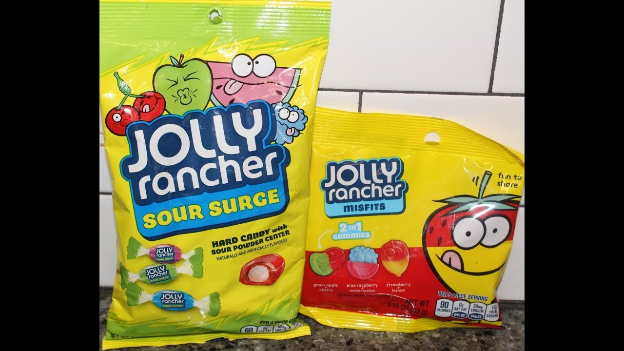 83cf47c74df5 Jolly Rancher: Sour Surge Hard Candy & Misfits 2in1 Gummies Review