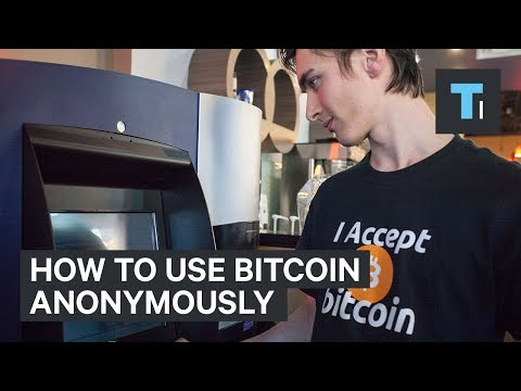 How to remain anonymous while using bitcoin