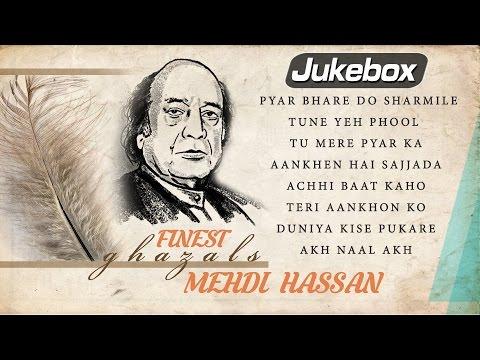 Finest Ghazals by Mehdi Hassan   Pakistani Romantic Ghazals   Mehdi Hassan Ghazals Best Collection