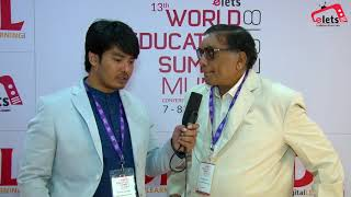 13th WES, Mumbai: Interview - Prof (Dr) R Gopal, Director, D Y Patil Deemed to be university...