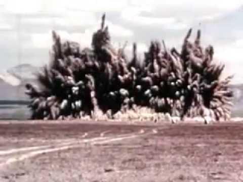 Nuclear bomb - underground test 1