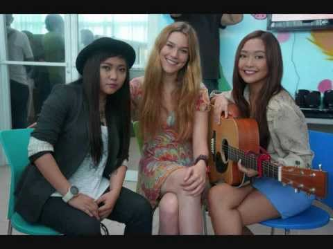 Charice and Joss Stone visiting charity Operation Smile, Manila Philippines