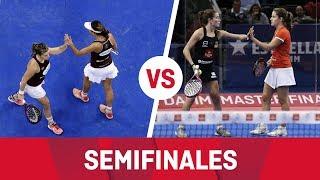 Resumen semifinal femenina (Marrero/Salazar Vs Martita/Ari) Estrella Damm Master Final 2018