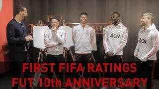 FIFA RATINGS w/ Lingard, Lukaku, Rashford & Shaw! FUT 10th Birthday Special