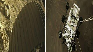 NASA'nın Aracı Perseverance Mars'a İniş Yapmıştı!