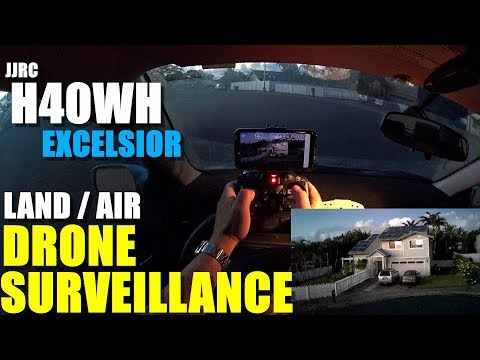 JJRC H40WH Excelsior Land/Air FPV Tank Drone - Full Review - Surveillance From My Car 🙃