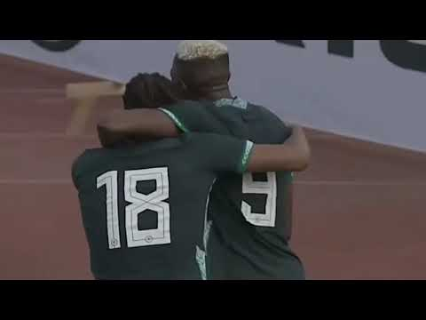 Nigeria vs Lesotho: Watch Victor Osimhen Score Nigeria's First Goal #NGALES