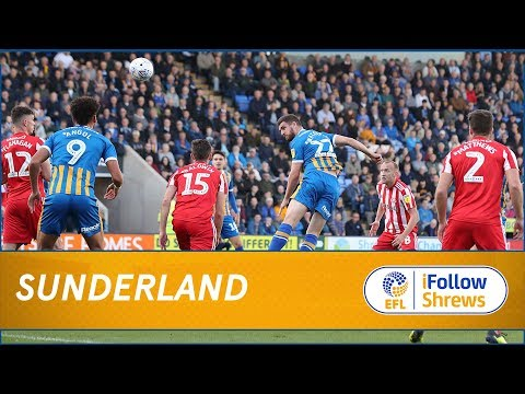 HIGHLIGHTS: Shrewsbury Town 0 Sunderland 2