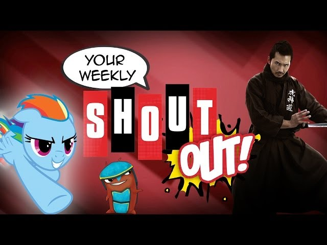 Food Fights, Exploding Slugs and Comicpalooza - Your Weekly Shout! Out: Episode 48