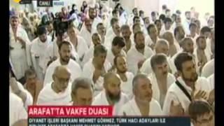 Mehmet Görmez'den Arafat'ta Vakfe Duası - TRT DİYANET