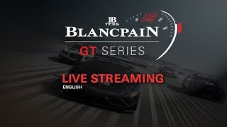 LIVE - RACE 1 - ZOLDER 2018 - Blancpain Gt Series - ENGLISH
