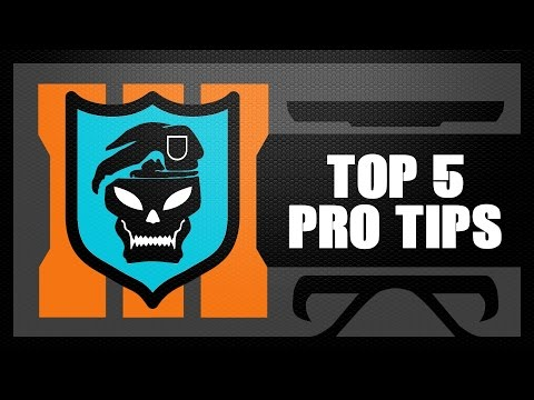 Black Ops 3 Top 5 PRO TIPS & TRICKS (Strategy Guide Tutorial)