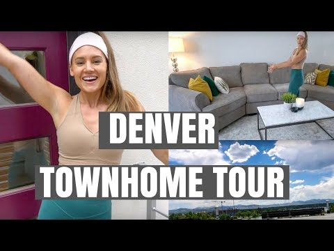 DENVER TOWNHOME TOUR | PRIVATE ROOFTOP
