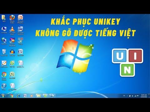 Hướng dẫn khắc phục lỗi UniKey không gõ được Tiếng Việt - Cho người mới