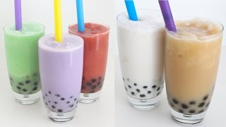 How to Make BUBBLE TEA | RECIPE