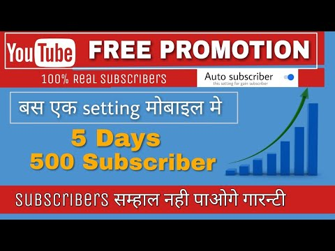 How to Promote Your YouTube Channel ✔️and Get More Subscribers [Working method 101%]