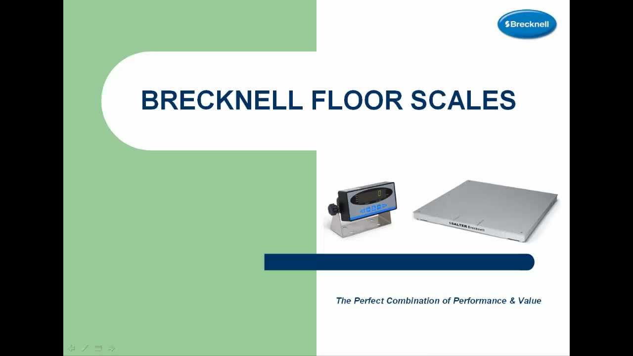 Salter Brecknell DCSB Pegasus Floor Scales With 200E - YouTube
