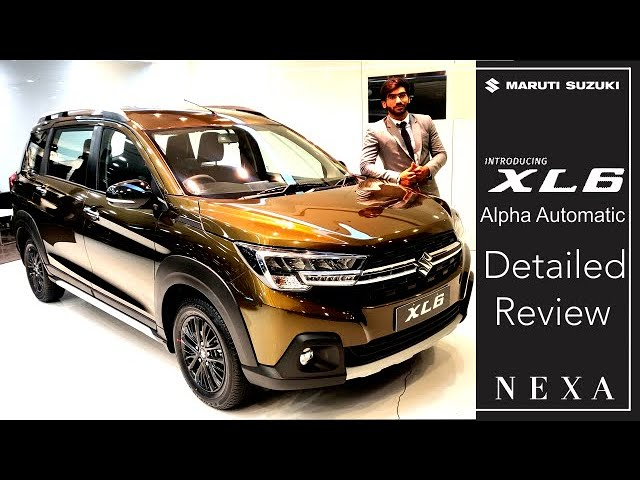 XL6 Alpha Automatic Review-Interior, Exterior & Specifications