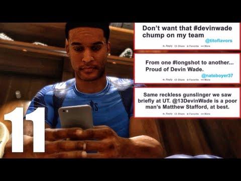 NFL DRAFT SEASON FINALE! Madden 18 Longshot Gameplay Walkthrough Ep. 11