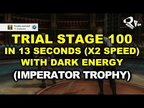 Final Fantasy XII The Zodiac Age - Trial Stage 100 in 13 seconds with Dark Energy (Imperator Trophy)