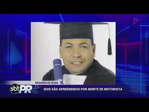 Motorista De Aplicativo é Assassinado A Pedrada E Paulada Em Assalto - SBT Paraná (22/04/19)