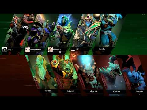 Just a practice for dota 2 casting. Lobby game bots