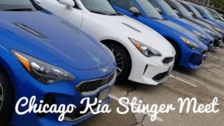 Chicago Kia Stinger Meet