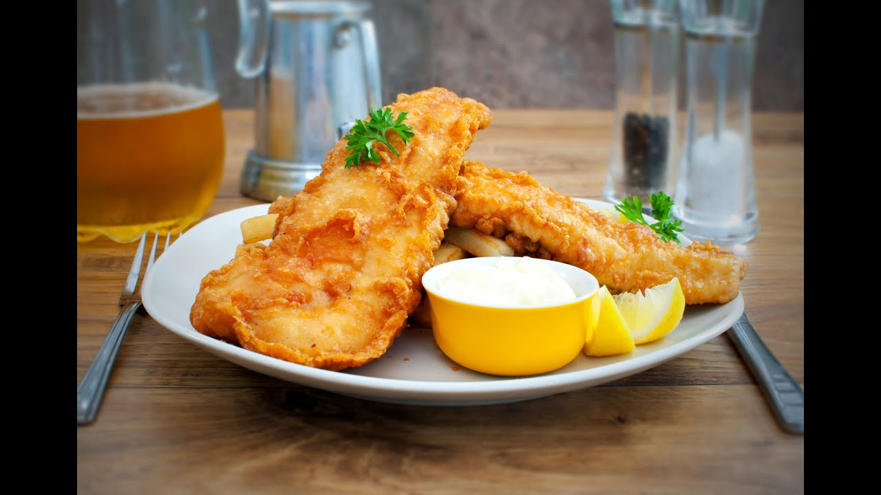 How to make fish and chips youtube for How to make fish and chips