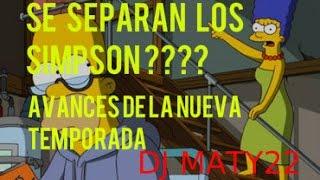 Homero y Marge se separan Los Simpsons avance temporada 27