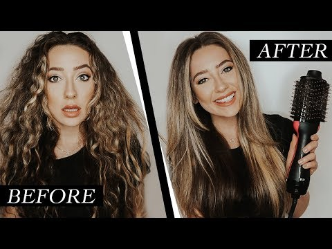 How To Get The Perfect Blowout At Home | Revlon One-Step Hair Dryer & Volumizer