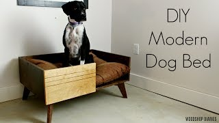 How to Build a Modern DIY Dog Bed