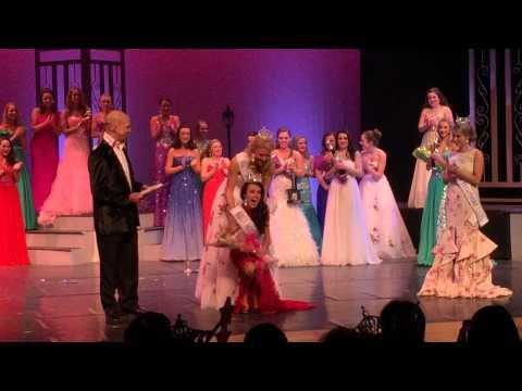 Allie Nault is Crowned Miss NH's Outstanding Teen