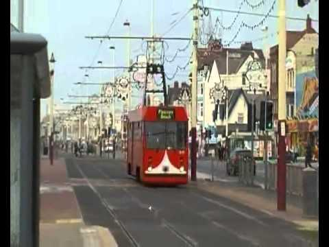 Trams In Blackpool, Along The Seafront 2011 (12th October 2011)