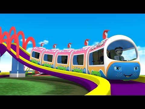 Toy Train Cartoon Factory: Choo Choo Cartoon Train Videos for Kids | Train Videos Toy Factory