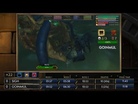 Asia-Pacific! MDI Mythic Dungeon Tournament! Sigh vs Goinmul!