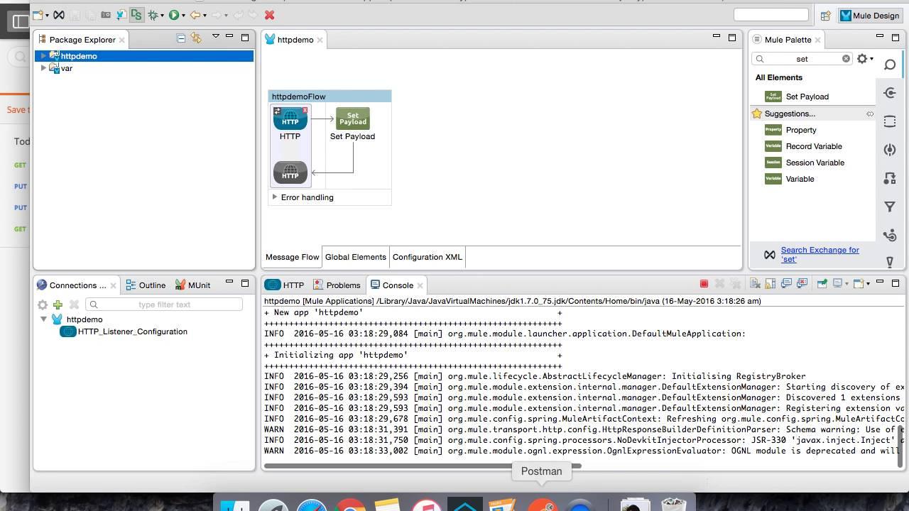 Mule ESB Tutorials - HTTP Connectors - Video 7B